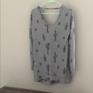 Sweaters - Women's cactus sweater